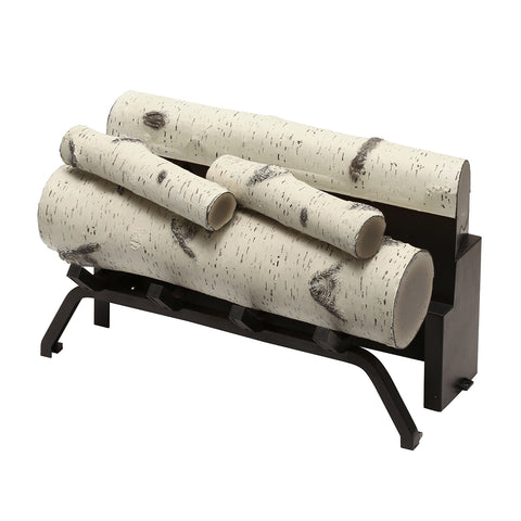 "Dimplex 24"" Accessory Birch Log Kit - RBFL24BR - Fireplace Choice"