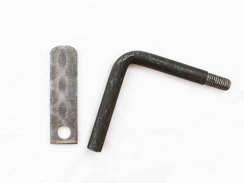 Image of Right Handle & Latch for Buck Wood Stoves - Fireplace Choice