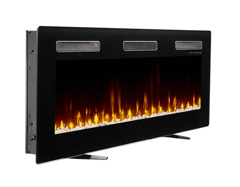 "Dimplex Sierra 60"" Wall Mount Electric Fireplace - SIL60 - Fireplace Choice"