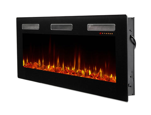 "Image of Dimplex Sierra 60"" Wall Mount Electric Fireplace - SIL60 - Fireplace Choice"