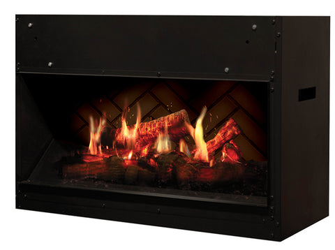 "Image of Dimplex Opti-V™ 30"" Solo Built-In Electric Fireplace - VF2927L - Fireplace Choice"