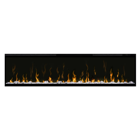 "Image of Dimplex IgniteXL 60"" Wall Mount Linear Electric Fireplace - XLF60 - Fireplace Choice"