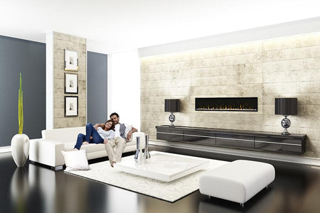 Dimplex IgniteXL 74-Inch Built-in Linear Electric Fireplace - XLF74 - Fireplace Choice