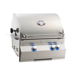 "Fire Magic Aurora 24"" Built-In Natural Gas Grill with Infrared Burner & Analog Thermometer - A430I-8LAN - Fireplace Choice"