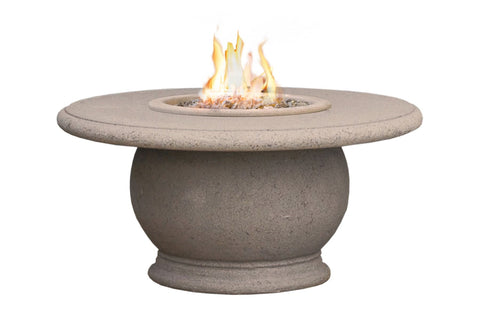 American Fyre Designs Amphora Firetable with Concrete Top - 610 Model - Fireplace Choice