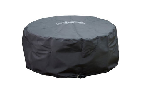"Image of American Fyre Designs Louvre 48"" Round Gas Fire Pit -  Protective Fabric Cover"
