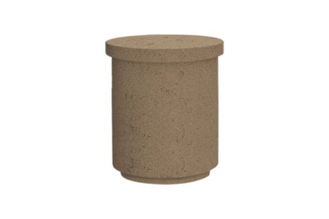 Image of American Fyre Designs Contempo Propane Tank Cover/End Table - 8510 - Fireplace Choice