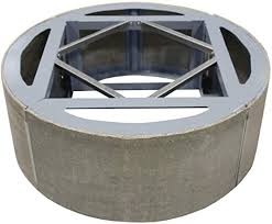 "Image of Firegear Assemble and Finish 42"" Round Fire Pit Enclosure For Natural Gas (ANFR42) - Fireplace Choice"