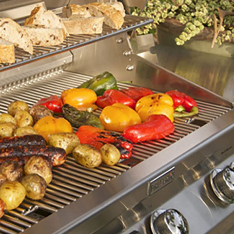 "Image of Fire Magic Aurora 24"" Built-In Natural Gas Grill with Infrared Burner & Analog Thermometer - A430I-8LAN - Fireplace Choice"