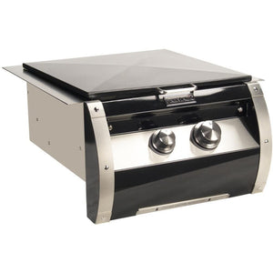 Fire Magic Echelon Black Diamond Gas Power Burner With Stainless Steel Grid - Fireplace Choice