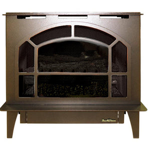 Buck Stove Hepplewhite Vent-Free Steel Gas Stove - Fireplace Choice
