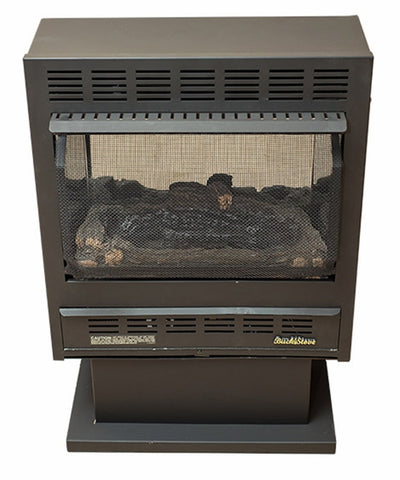 Buck Stove Model 1110 Vent-Free Gas Stove - Black - Fireplace Choice