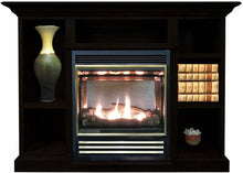 Buck Stove 1127 Vent Free Gas Stove with Prestige Mantel - Natural Gas - Fireplace Choice