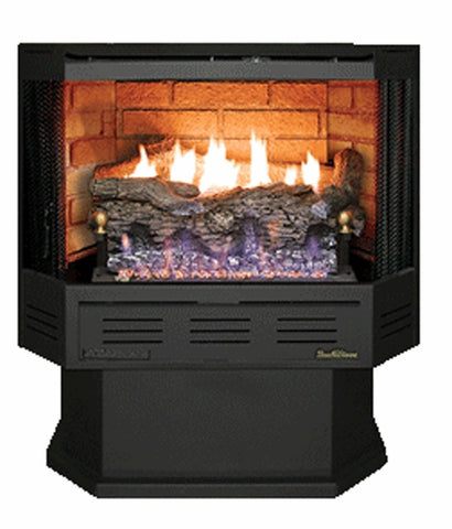 Buck Stove Model 329 Vent-Free Gas Stove - Remote Ready (NV C329B4EBNAT) - Fireplace Choice