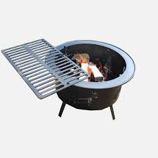 "Buck Stove Optional Cooking Grate for 18"" Square or 30"" Round Fire Pit - MA CGFP1830-XL - Fireplace Choice"