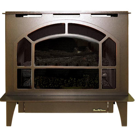 Buck Stove Townsend II Vent-Free Steel Gas Stove - Fireplace Choice