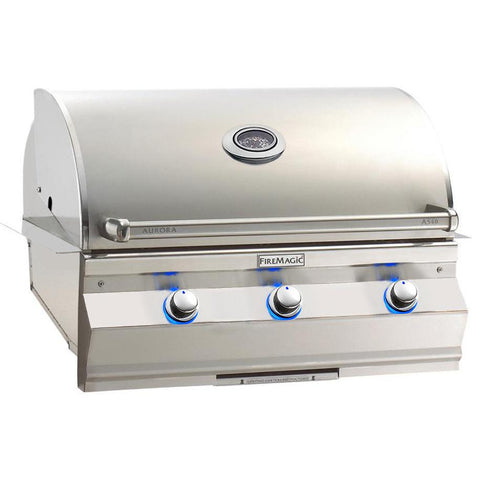 "Fire Magic Aurora  30"" Built-In Gas Grill With Analog Thermometer  - A540I-7EAN/A540I-7EAP"