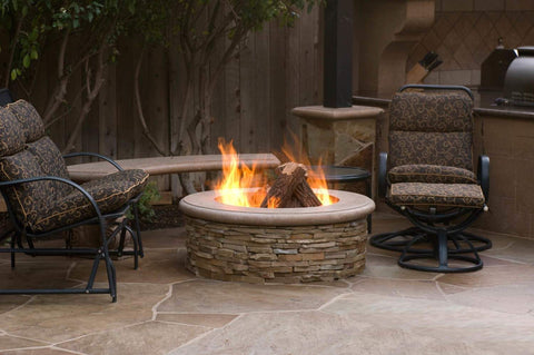 Image of American Fyre Designs Contractor's Model Gas Fire Pit - Fireplace Choice
