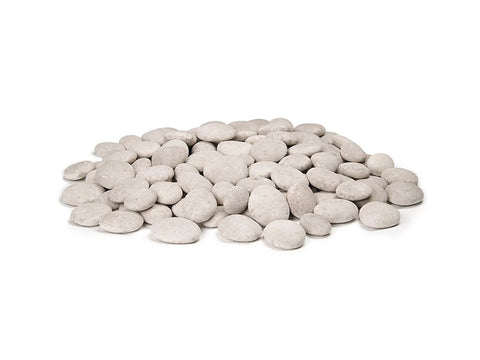 Image of American Fyre Designs Creekstones For Fire Pits (20-lb) - Fireplace Choice