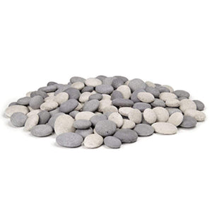 American Fyre Designs Creekstones For Fire Pits (20-lb) - Fireplace Choice