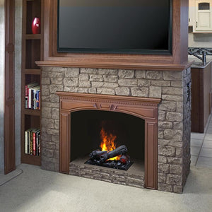 "Dimplex Opti-Myst 16"" Cassette Insert with Logs - DFI400LH - Fireplace Choice"