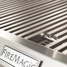 "Fire Magic Aurora  30"" Built-In Gas Grill With Analog Thermometer  - A540I-7EAN/A540I-7EAP - Diamond Sear Cooking Grids"