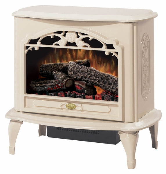 Dimplex Celeste Electric Stove with 3 Stage On/Off Remote - Fireplace Choice