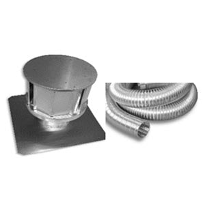 Sierra Flame Direct Vent Kit for Abbot Gas Fireplace - Fireplace Choice