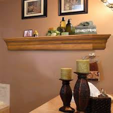 Image of Pearls Mantels 490 Lindon Fireplace Mantel Shelf - Unfinished - Fireplace Choice