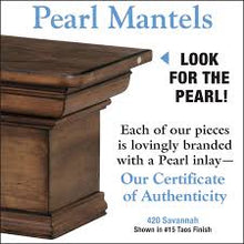 Pearl Mantels 420 Savannah Fireplace Mantel Shelf - Fireplace Choice