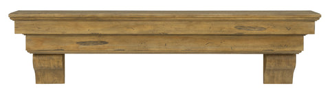 Pearl Mantels 497 Celeste Fireplace Mantel Shelf - Fireplace Choice