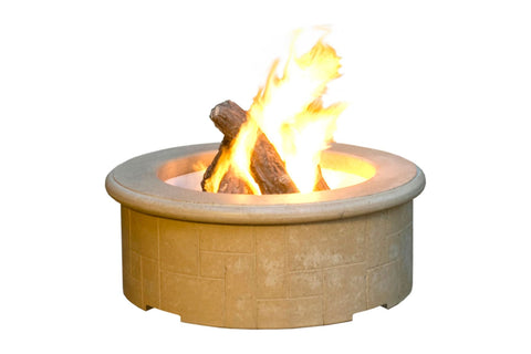 Image of American Fyre Designs El Dorado Firepit 681 - Fireplace Choice
