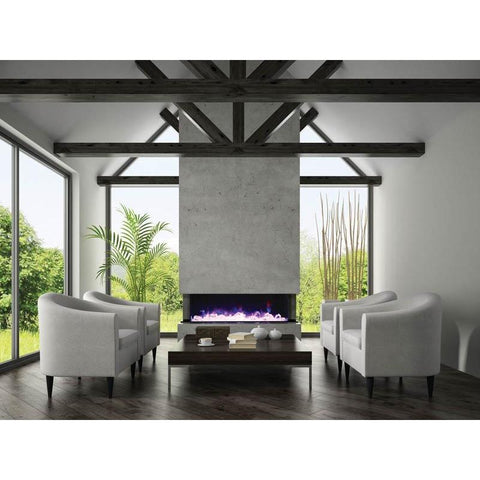 "Image of Amantii Tru View  – 72"" electric fireplace - Fireplace Choice"