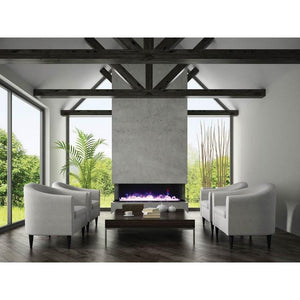 "Amantii Tru View  – 72"" electric fireplace - Fireplace Choice"