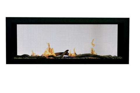"Image of Sierra Flame Emerson Deluxe 48"" Direct Vent Linear Gas Fireplace - Fireplace Choice"