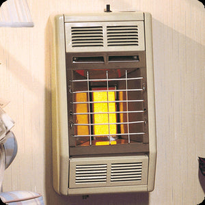 Empire Infrared Vent-Free Gas Heater with Hydraulic Thermostat Controls - Fireplace Choice