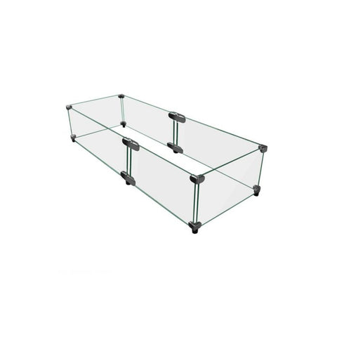 Image of Firegear Glass Windshield for L Series Combinations (GWS-6010) - Fireplace Choice
