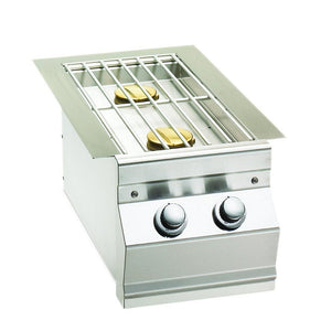 Fire Magic Choice Built-In Gas Double Side Burner  - 3281R/P - Fireplace Choice