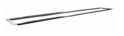 Firegear Stainless Steel Trim Piece For FPB-L36 Series Burners (TRIM-L72) - Fireplace Choice