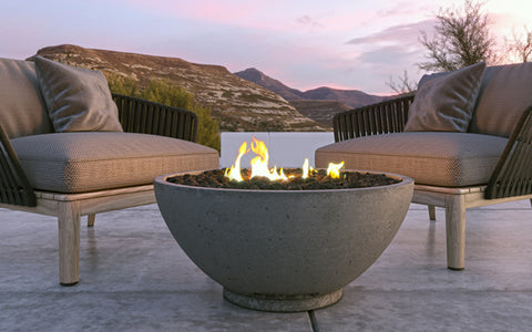 Image of Firegear Sanctuary 3 Gas Fire Bowl with Electronic Ignition System (SAN3-26DAWSN) - Fireplace Choice