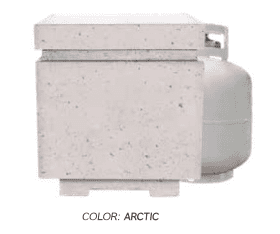 "Firegear Sanctuary 20"" Propane Tank Enclosure - SANCTUARY-LPTE - Fireplace Choice"