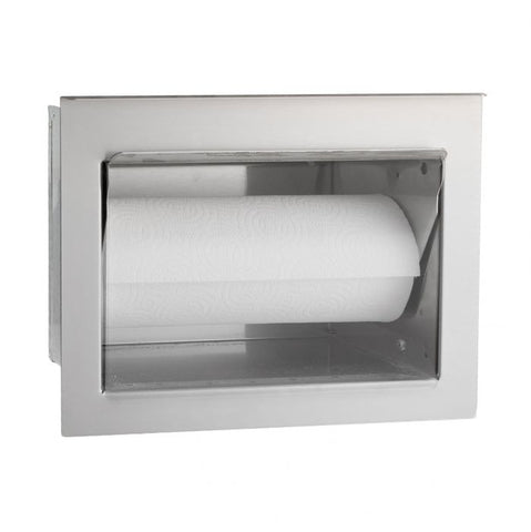 Image of Fire Magic Flush Mounted Paper Towel Holder - 53812 - Fireplace Choice