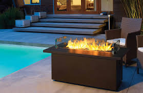 "Image of Firegear Outdoors Glass Windshield For 30"" L Burners & 36"" Burner Systems (GWS-4410) Lifestyle - Fireplace Choice"