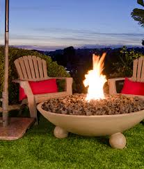 "American Fyre Designs 40"" Versailles Gas Fire Bowl with Ball Feet - 742 Model - Fireplace Choice"