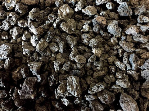 "Image of Firegear 1"" to 2"" Black Lava Rocks - 50 lbs (FG-LAVA-50) - Fireplace Choice"