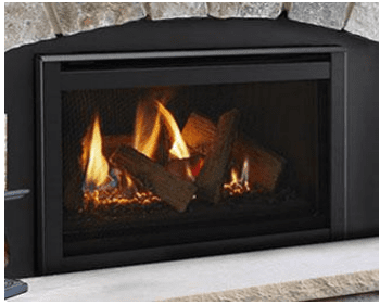Image of Majestic 35 Inch Ruby Direct Vent Gas Fireplace Insert - Fireplace Choice