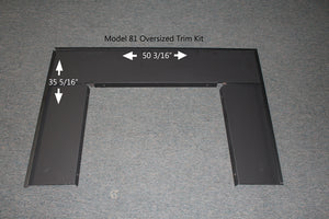 Buck Stove Oversize Trim Kit - For Model 81 Wood Stove - Fireplace Choice