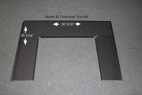 Buck Stove Oversize Trim Kit for Model 81 Wood Stove - PA FP8112 - Fireplace Choice