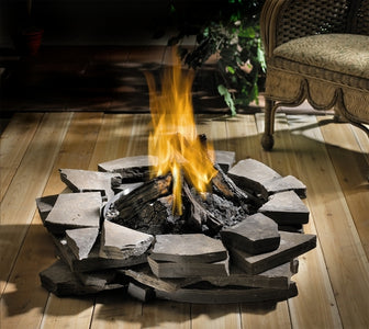 Napoleon Patioflame Stainless Steel Outdoor Fire Pit - Fireplace Choice