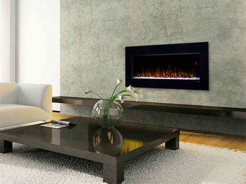 "Image of Dimplex Nicole 43"" Wall Mount Electric Fireplace - DWF3651B - Fireplace Choice"